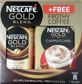 Nescafé Gold Blend & free 8 sachet pack £4.50 @ Home bargains Leeds