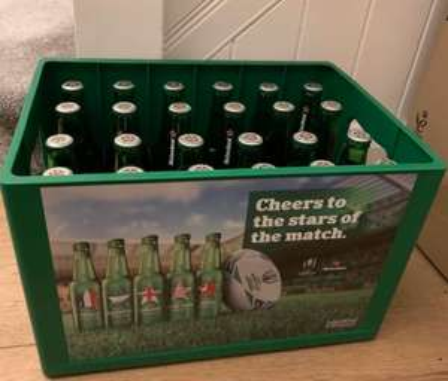 Heineken 24 x 330ml Bottles in Reusable Crate £14.00 at Asda Smithdown Rd, Liverpool