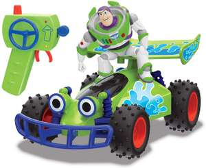 Disney Pixar - Toy Story 4 – RC Buggy with Buzz – 1: 24 Scale £7.50 + £4.49 NP @ Amazon