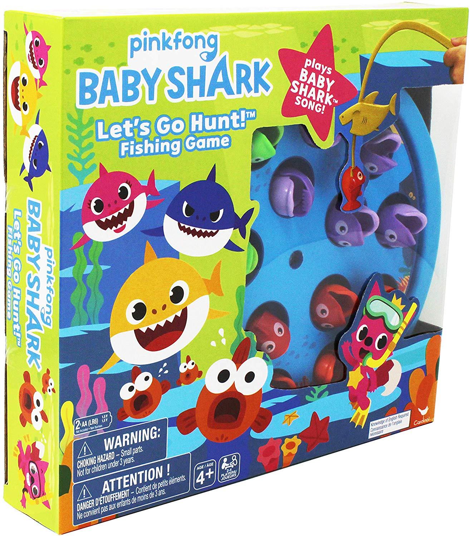 Baby Shark Gone Fishing Game £4.50 (Add on Item) @ Amazon