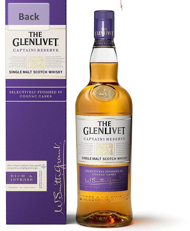 The Glenlivet Captain's Reserve Whisky, 70 cl £29.99 @ Amazon