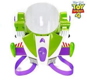 Disney Pixar Toy Story 4 Buzz Lightyear Toy Astronaut Helmet for Role-play Movie Action with Jetpack, Lights, £27 @ Amazon