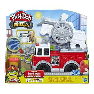 Play-Doh Wheels Fire Truck Toy with 5 Non-Toxic Colours Including Water Compound, Multicolour £6.60 + £4.49 NP @ Amazon