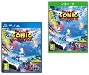 Team Sonic Racing (PS4 / Xbox One) for £15.99 (Prime) / £20.48 (Non Prime) delivered @ Amazon