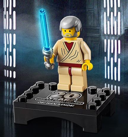 Free LEGO Star Wars 30624 Obi-Wan Kenobi with any Star Wars purchase over £40 @ LEGO Shop