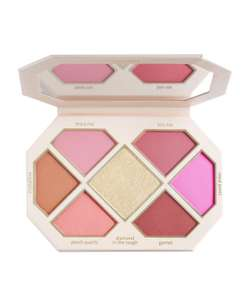 JOUER Rose Cut Gems Blush & Cheek Topper Palette £17.92 @ Cult Beauty