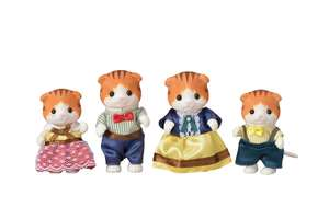 Sylvanian maple cat family £7.47 free delivery for prime members or + £4.49 NP AMAZON