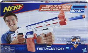 Nerf N-Strike Elite Retaliator Blaster £12.59 + £4.49 NP @ Amazon