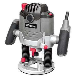 "Wickes 1/2"" 1500W Plunge Router £45 instore"