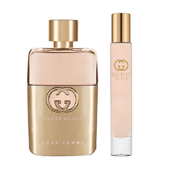 Gucci Guilty 50ml Eau de Parfum + 7.4ml Rollerball £51.29 @ Fragrance Direct