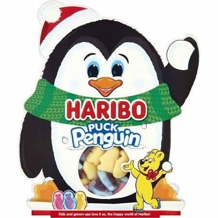 Haribo Penguin Gift Box 200G 2 for £1 instore at FarmFoods