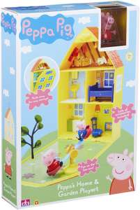 Peppa Pig house and garden playset at Amazon for £14.53 Prime (£4.49 non Prime)