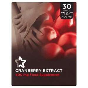 Cranberry extract 30 tablets 50p Superdrug in-store and online