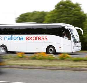 National Express 40% Off Code for £1.40 (Using code) at Groupon (Valid for UK Return fares)