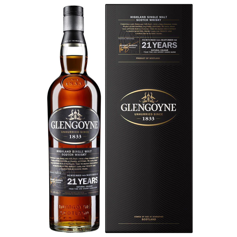 Glengoyne 21 year old Single Malt Whisky 70cl at Amazon for £82.50