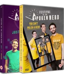 Festival of the Spoken Nerd DVDs: You Cant Polish a Nerd & Just for Graphs £3.14 each (£3.48 postage per order)