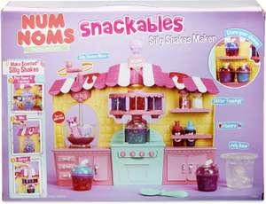 Num Noms Snackables Silly Shakes Maker Playset £9.79 Prime at Amazon (£4.49 non Prime)