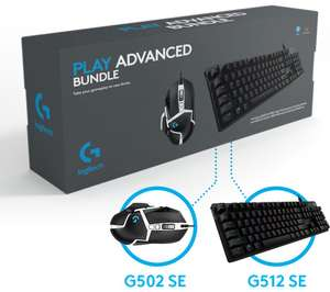 LOGITECH G Play Advanced Gaming Keyboard G512SE & G502SE Mouse Set Bundle + £5 Giftcard - £80 Delivered @ Currys.co.uk