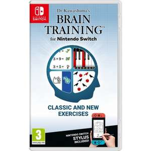 Dr Kawashima's Brain Training for Nintendo Switch £24.95 at The Game Collection