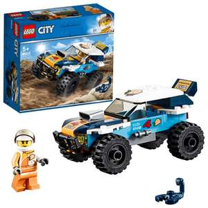 LEGO 60218 City Great Vehicles Desert Rally Racer Toy Car £5 Prime / 9.49 Non Prime @ Amazon Add On