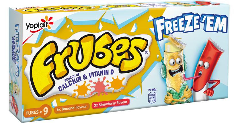 2 packs of Frubes Banana & Strawberry Yogurts 9*37g - £1 @ Fulton Foods