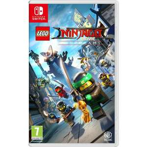 LEGO The Ninjago Movie: Videogame - Nintendo Switch - £17.85 at Base.com