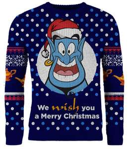Disney, Harry Potter & DC Knitted Christmas Jumpers £19.99 delivered @ Merchoid