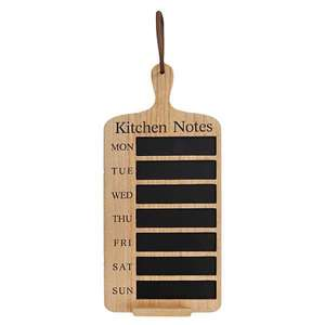Kitchen Notes Weekly Blackboard £11.25 at Freemans