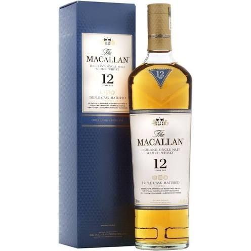 Macallan 12 Year Old Triple Cask Single Malt Whisky, 70 cl £45.49 @ Amazon