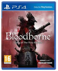 Bloodborne - Game Of The Year Edition PS4 £20 at CeX