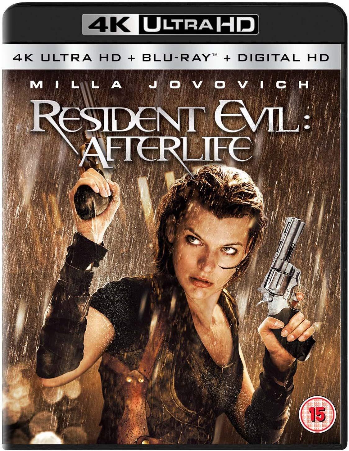 Resident Evil: Afterlife (4K Ultra HD [2010] [Region Free] 4K + Blu-ray + Digital version £7.99 @ Amazon Prime / £10.98 Non Prime