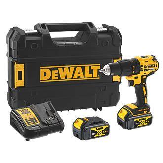 DEWALT DCD778M2T-SFGB 18V 4.0AH LI-ION XR Brushless Cordless Combi Drill £149.99 at Screwfix