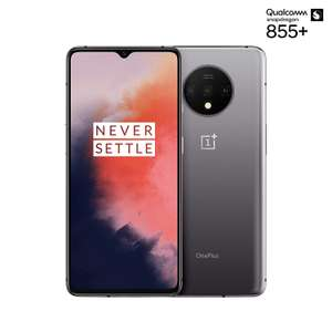 OnePlus 7T 8 GB RAM 128 GB UK SIM-Free Smartphone - Frosted Silver (2 Year Manufacturer Warranty) £549 @Amazon