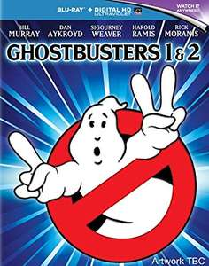 Ghostbusters & Ghostbusters 2 Blu-Ray Discs Plus Digital Download £4.99 Delivered with Amazon Prime or £5.98 Non Prime