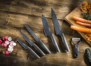 Tower Essentials 6 piece knives set 5 year guarantee - £7.99 instore @ Iceland warehouse anlaby