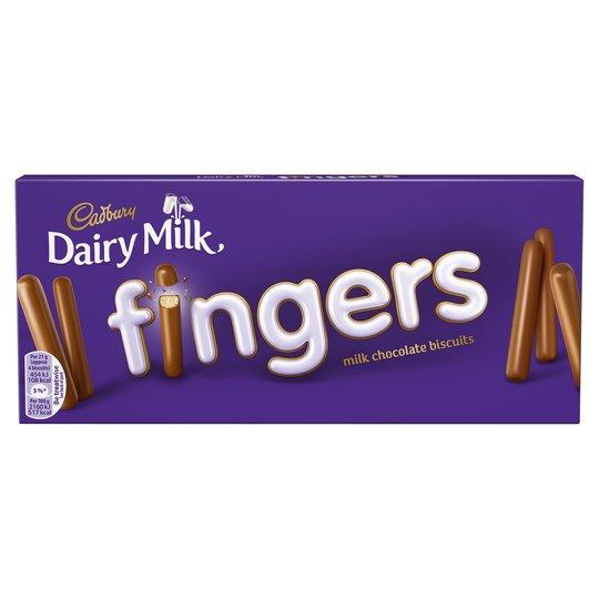 Cadburys Fingers £1 + 20% extra free @ Poundland
