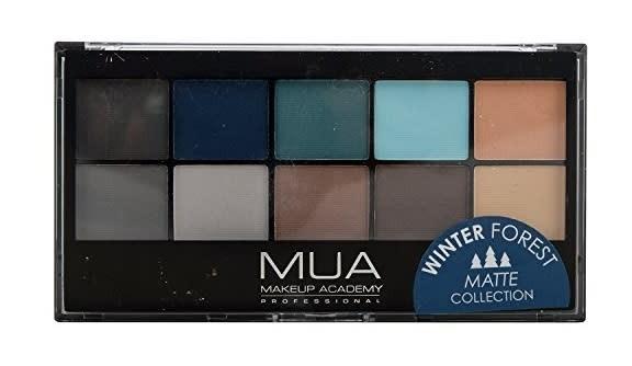 MUA Winter Forest Matte Collection Eyeshadow Palette, In Store £1 @ Poundland, Sauchiehall Street, Glasgow