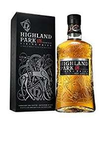 Highland Park 18 year old single malt whisky reduced to £84.99 at Amazon