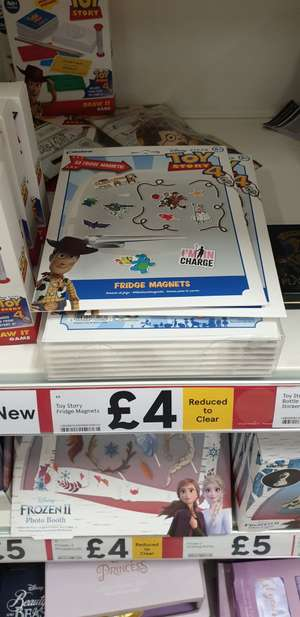 53 Toy Story 4 Fridge Magnets £4 Instore and Online @ Tesco