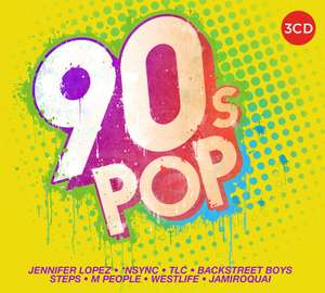 90s Pop [3CD Compiliation] - £3 delivered @ Amazon Prime / Non-Prime +£2.99