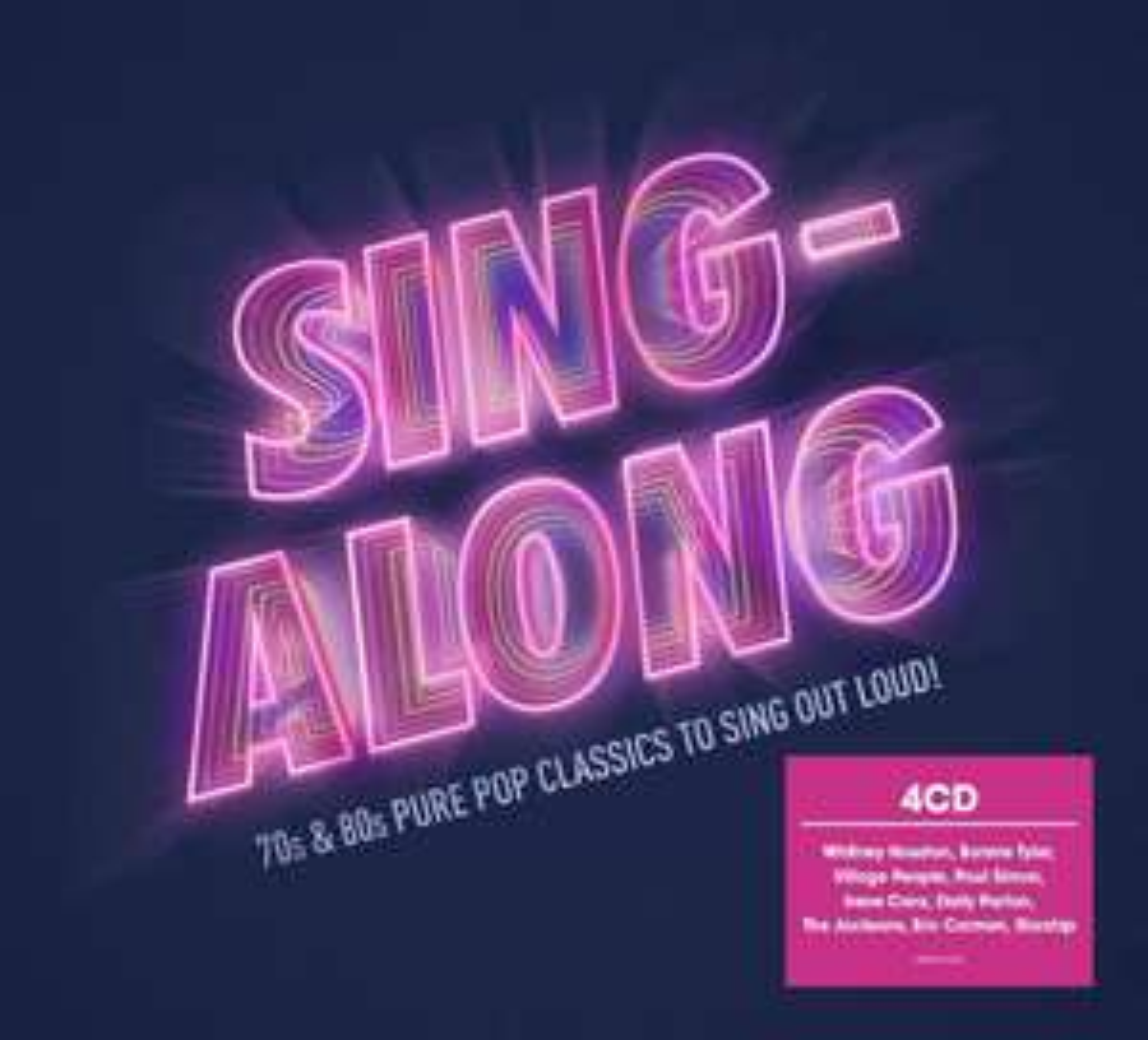 Sing-Along [4CD Compilation] - 2018 + MP3 Version - £2.86 delivered @ Amazon Prime / Non-Prime +£2.99