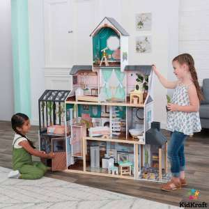 KidKraft Celeste Mansion Dollhouse +24 Pieces Of Furniture (3+ Years) - COSTCO Online