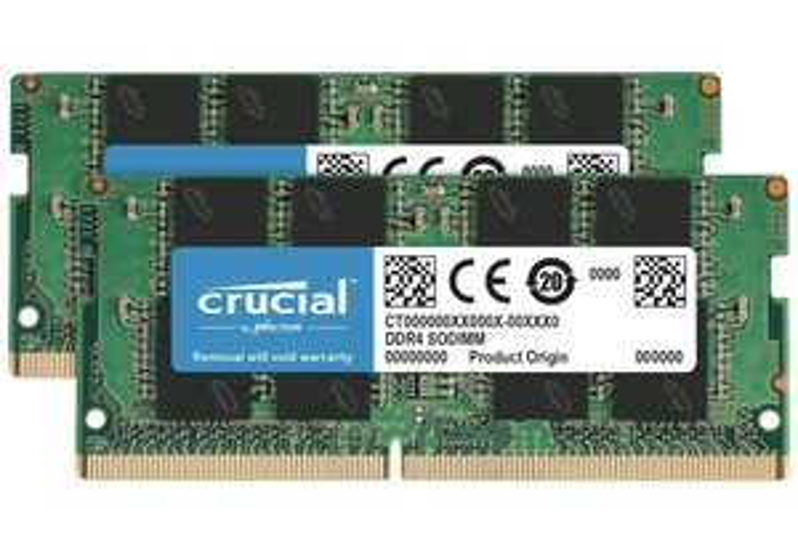 Crucial 16GB (8GB x 2) DDR4, 2400 MT/s RAM Memory £48.83 @ Amazon