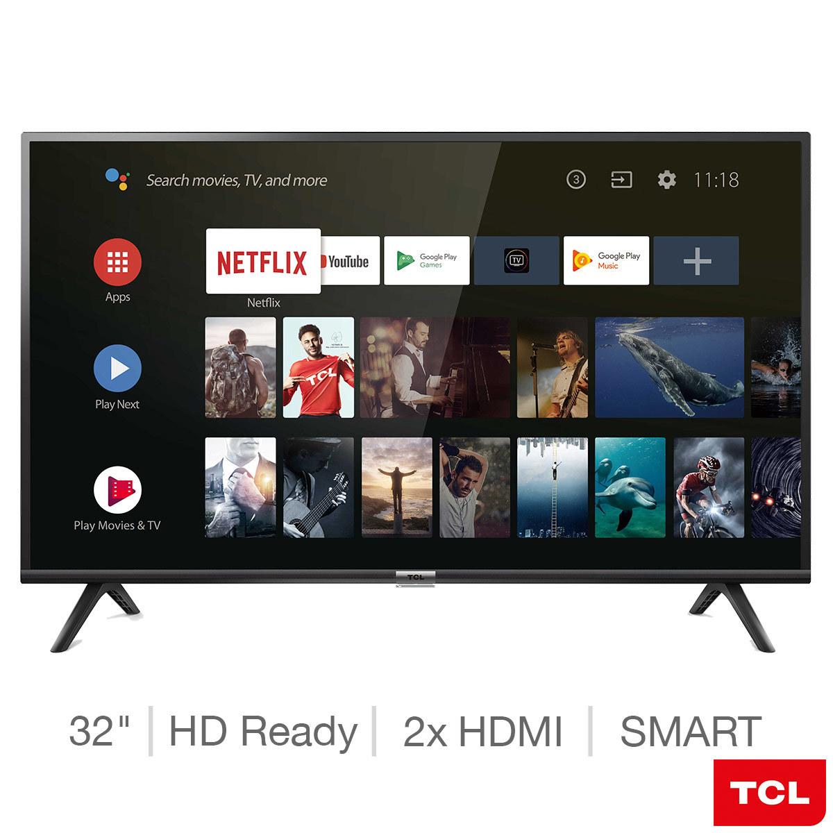 TCL 32ES568 32 Inch HD Ready Smart TV £139.99 @ Costco