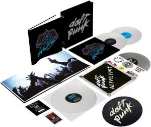 Daft Punk alive vinyl box set at Amazon for £66.09