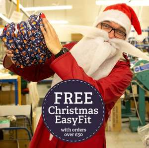 Free Christmas Easy Fit Reusable Nappy when you spend over £50 at TotsBots