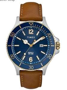 Timex Mens Analogue Classic Quartz Watch with Leather Strap £42 at Amazon