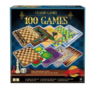 Ambassador Classic Games Collection - 100 Game Set £8.49 with code @ Robert Dyas - (Free Click and Collect)