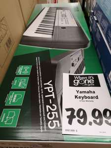 Yamaha YPT-255 Digital Music Keyboard £79.99 @ Lidl Cheadle Hulme store