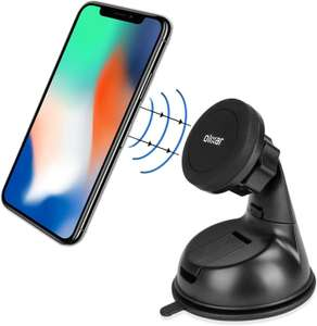 Olixar Magnetic Car Phone Holder - Windscreen/Dashboard - Black £6.99 (+£4.49 Non Prime) Sold by Olixar and Fulfilled by Amazon
